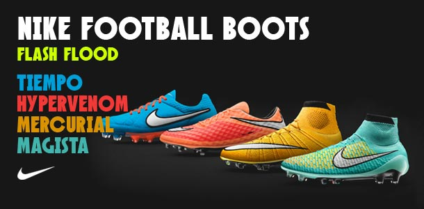 Nike Football Boots. Flash Flood Collection