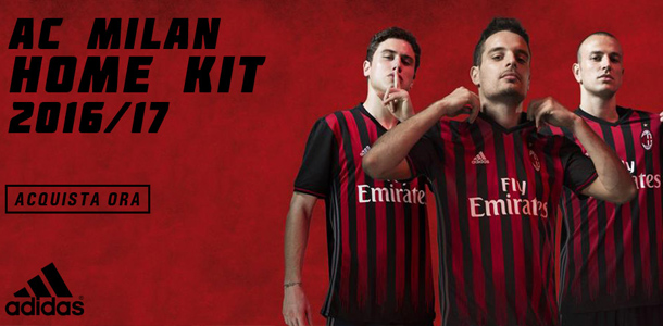 Milan kit Home 2016/17