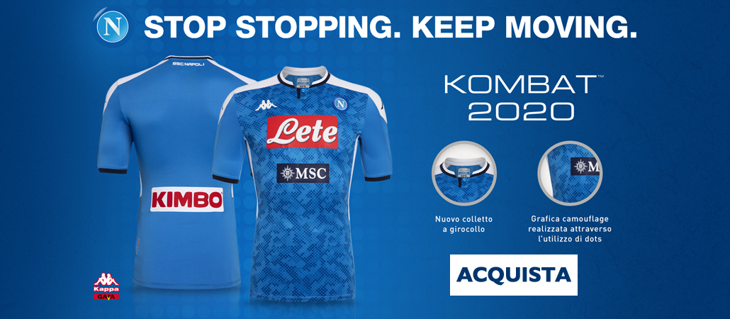 SSC Napoli Home Kit 2020
